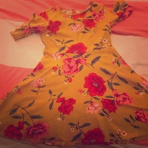 Old navy Girls flower dress